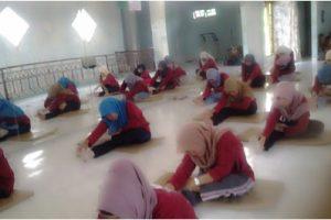 peserta Serem Qur'an saat senam