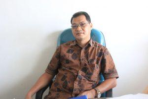 Dr. Achmad Nurmandi, M.Sc saat memberi keterangan mengenai Akreditasi Magister Keperawantan UMY.